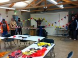 Bunting making session