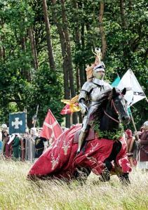 Knight on horseback © Dominic Sewell