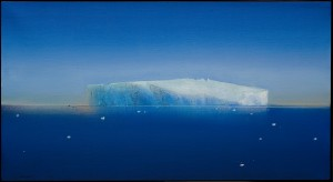 Keith Grant, Iceberg off Rothera Point, 2006, Oil on canvas