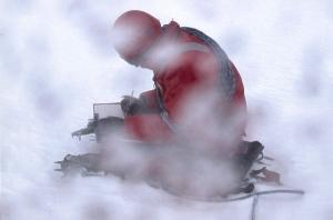 Philip Hughes - working in Antarctica