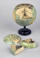 """A jigsaw puzzle globe for teaching geography, English, c. 1870 """"Image © the Whipple Museum (Wh.4608)."""""""