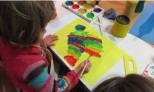 Exploring colour in response to work in the twentieth century gallery