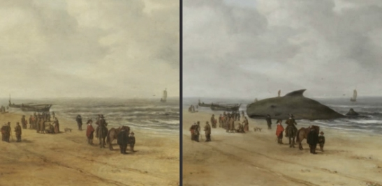 View of Scheveningen Sands by Hendrick van Anthonissen Credit: Fitzwilliam Museum