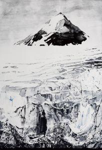 'Nunatak' Intaglio print, 2015