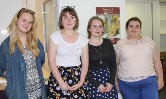 Evonne Baltrock, Ellen Jones, Maddy Stewart, Beth Stinchcombe