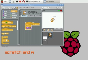 Scratch and Pi courtesy of Centre for Computing History