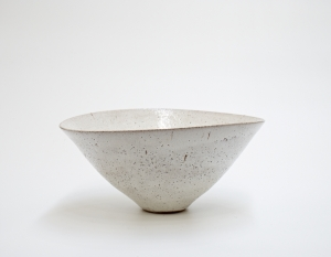 Lucie Rie, Conical Bowl, 1971, image courtesy of the Estate of the Artist.