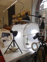 Photogrammetry in the Keyser Workroom at MAA