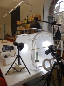 Photogrammetry in the Keyser Workroom at MAA