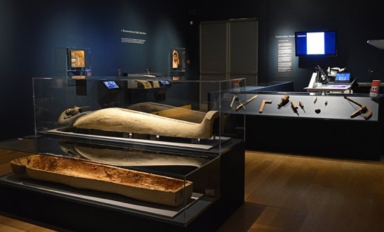 Death on the Nile: Uncovering the afterlife of ancient Egypt. Fitzwilliam Museum, 23 February 2016 to 22 May 2016.