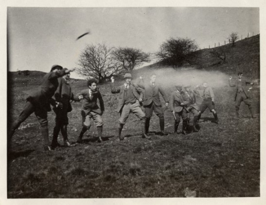 Throwing Hammers in Dolywern, 1914