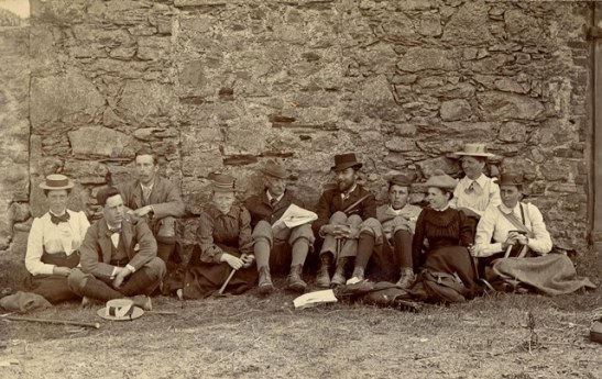Lunch, Isle of Man, 1893