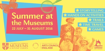 Summer at the Museums banner